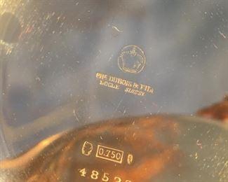 DuBois et Fils 18k repeater pocketwatch