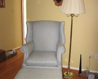 Distinguished Chair and Ottoman