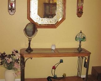 Side Table, Wall Mirror, Candle Holders, Wall Sconces, Decorative Lamp