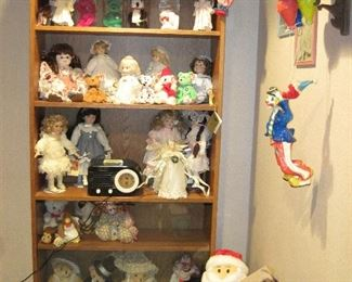 Clown Collectibles, Dolls, Beanie Babies, Stuffed Animals