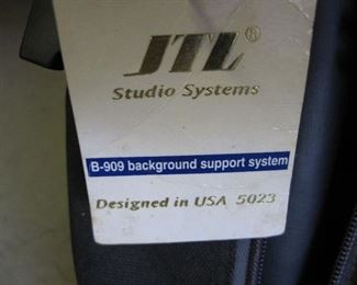 JTL Photographic Background Support System