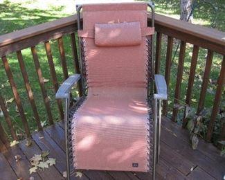 Gravity Lawn Chair