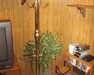 Coat Tree, Storage Cabinet