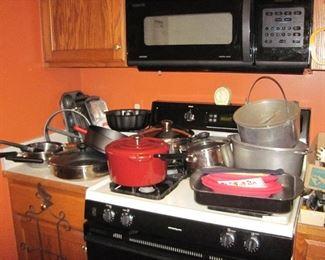 Bake Ware, Pots and Pans