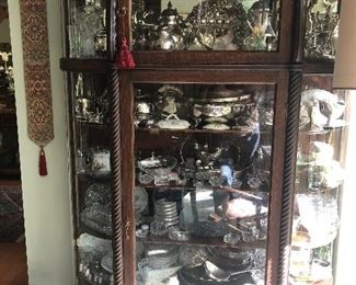 Tons of gorgeous collectibles, excellent condition! From Silver, to tea sets to China. Come take a look!