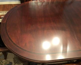 Another shot of Thomasville Fredericksburg Mahogany Dining Room Table