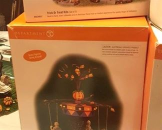 Department 56 Halloween Items