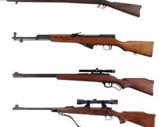 Some of the modern big game rifles