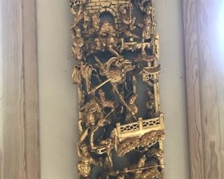 Gold Wall Hanging