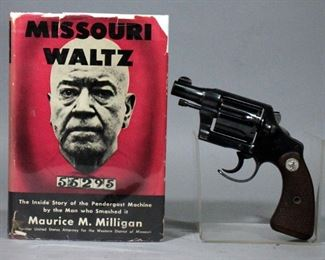 "Rare and Historic 1932 Pre-War Colt Fitzgerald 38 Detective Special Double Action Revolver, 2"" BBL, Cutaway Trigger Guard, SN# 40913"