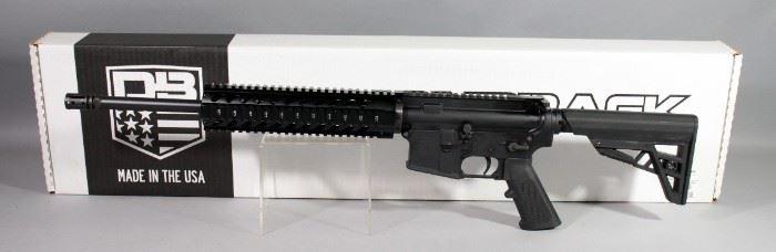 Diamondback DB15 5.56mm Rifle SN# DB1905034, With Adjustable Stock, In Box, New, Unfired