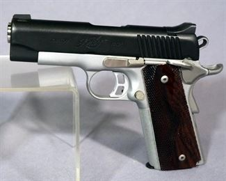 Kimber Pro Elite / Custom Shop .45 ACP Pistol SN# KPE0241, 2 Total Mags And Paperwork, In Hard Case