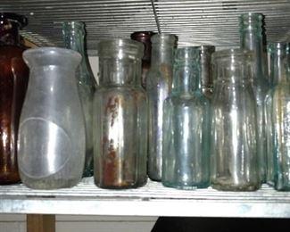 Vintage antique bottles