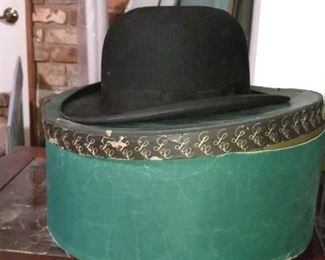 Vintage derby hat