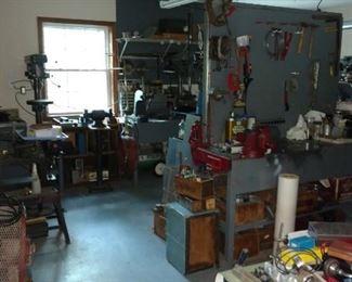 Room full of tools