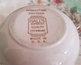 Hall's China