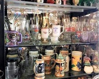 HMT019 Collectible Dispensers, Steins & More
