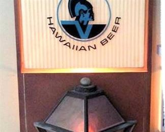 HMT022 Primo Hawaiian Beer Lantern Wall Hanging