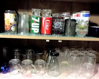 HMT035 Various Drinking Glasses