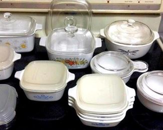 HMT037  Various Corningware Cookware