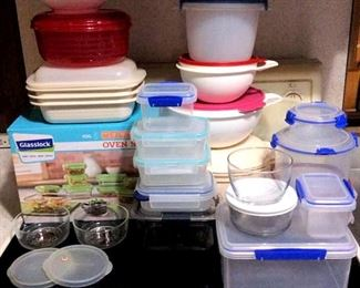 HMT039 Tupperware, Glasslock & Sistema Food Containers and More!