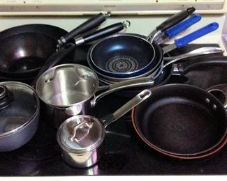 HMT041 Various Pots and Pans
