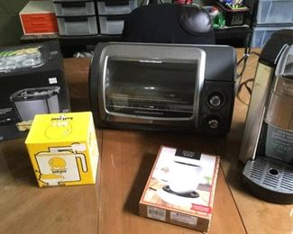 HMT044 Ice Cream Maker, Toaster Oven & More