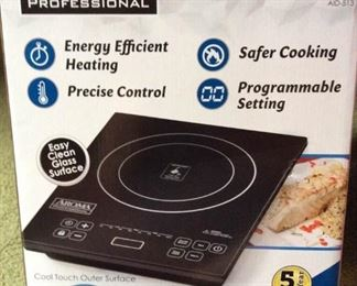 "HMT045 Aroma Induction 11"" Cooktop New in Box"