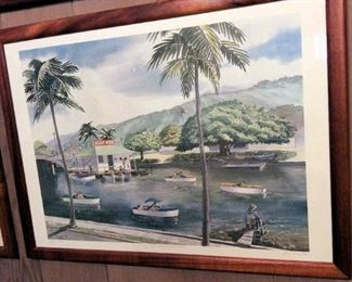 HMT056 Joe Pimental Limited Edition Framed Print