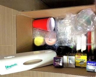 HMT069 Mystery Box of Picnic Ware & Other Paper Goods
