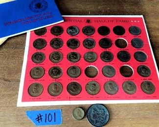 HMT101 Bronze Presidential Collectors Set