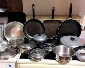 HMT115 Various Pots and Pans