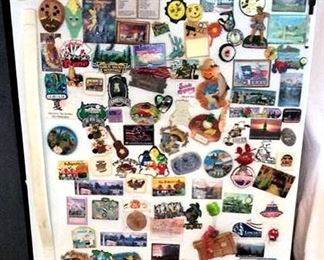 HMT120 Huge Lot of Various Souvenir Magnets