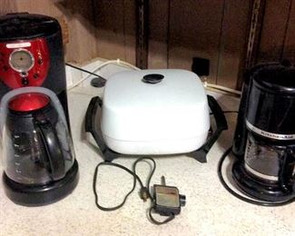HMT119 Coffee Makers and Electric Skillet