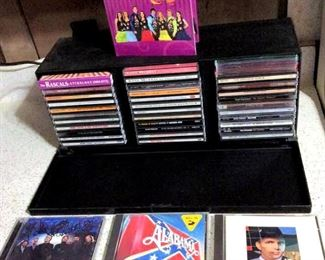 HMT123 Oldies CD's and Laserline CD Storage Case