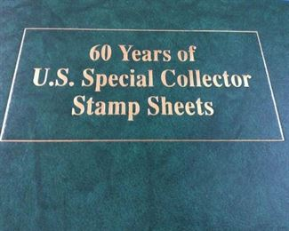 HMT128 Collectors Stamp Sheets