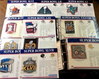 HMT130 Super Bowl Patches