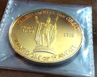 HMT132 Kingdom of Hawaii coin