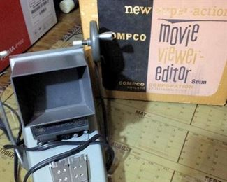 HMT174 8mm Movie Editor & Viewer in Box