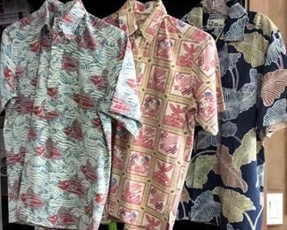 HMT177 Three Small Reyn Spooner Aloha Shirts