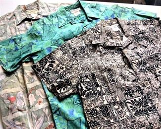 HMT191 Three Small Cooke Street Aloha Shirts