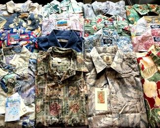 HMT193 Sixteen Aloha Shirts Selection