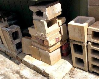 HMT223 Cinder Blocks and Metal Box
