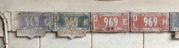 Oak park motorcycle tags
