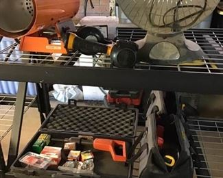 Assortment of Home Building Tools and Accessories