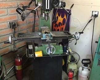 Central Machinery Milling and Drilling Machine