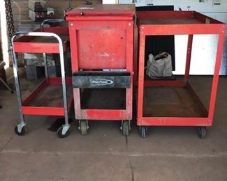 Snapon Rolling Tool Box and Carts