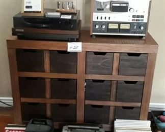 Vintage Stereo and Audio Equipment