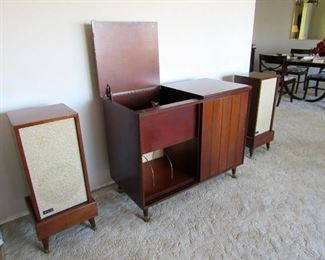 Stereo Cabinet with Speakers