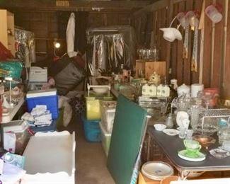 Misc garage sale items
